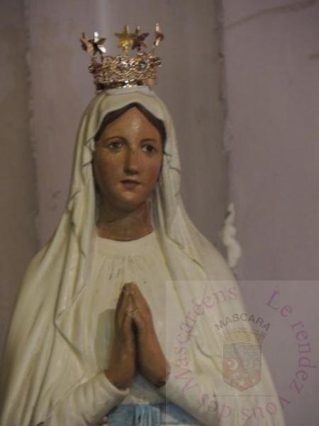 Couronnement de la vierge de Matemore